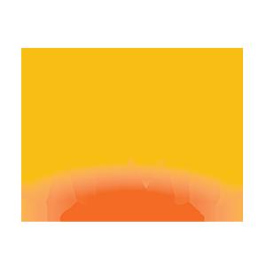 Atmo full logo gradient color