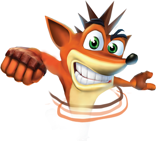 Large pngkey.com crash bandicoot png 300359