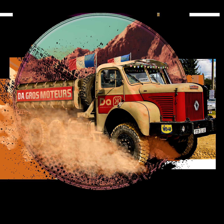 Large camion berliet gbc