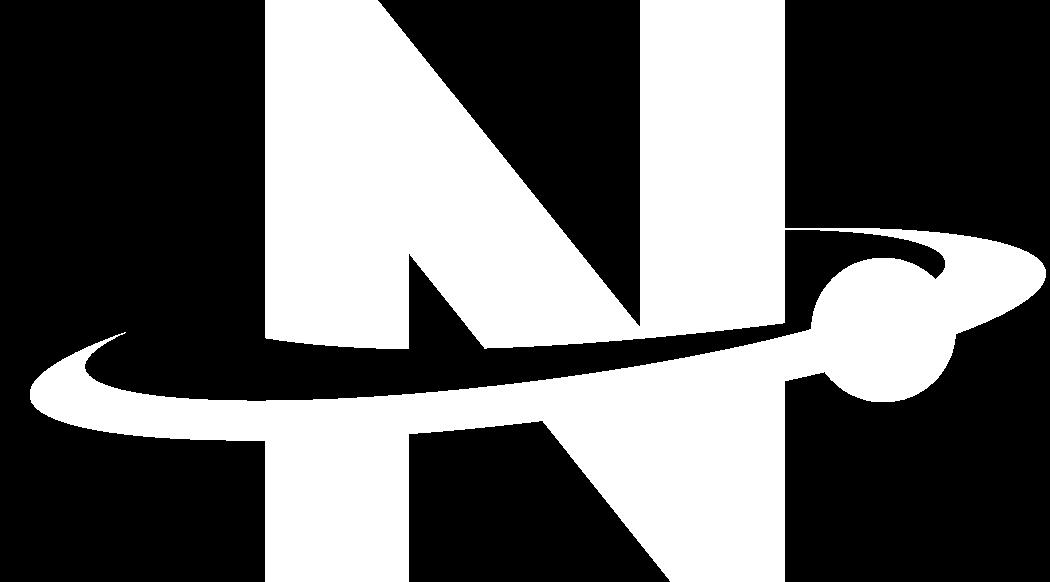 Large nova symbol white