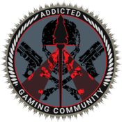 Large addicted logo