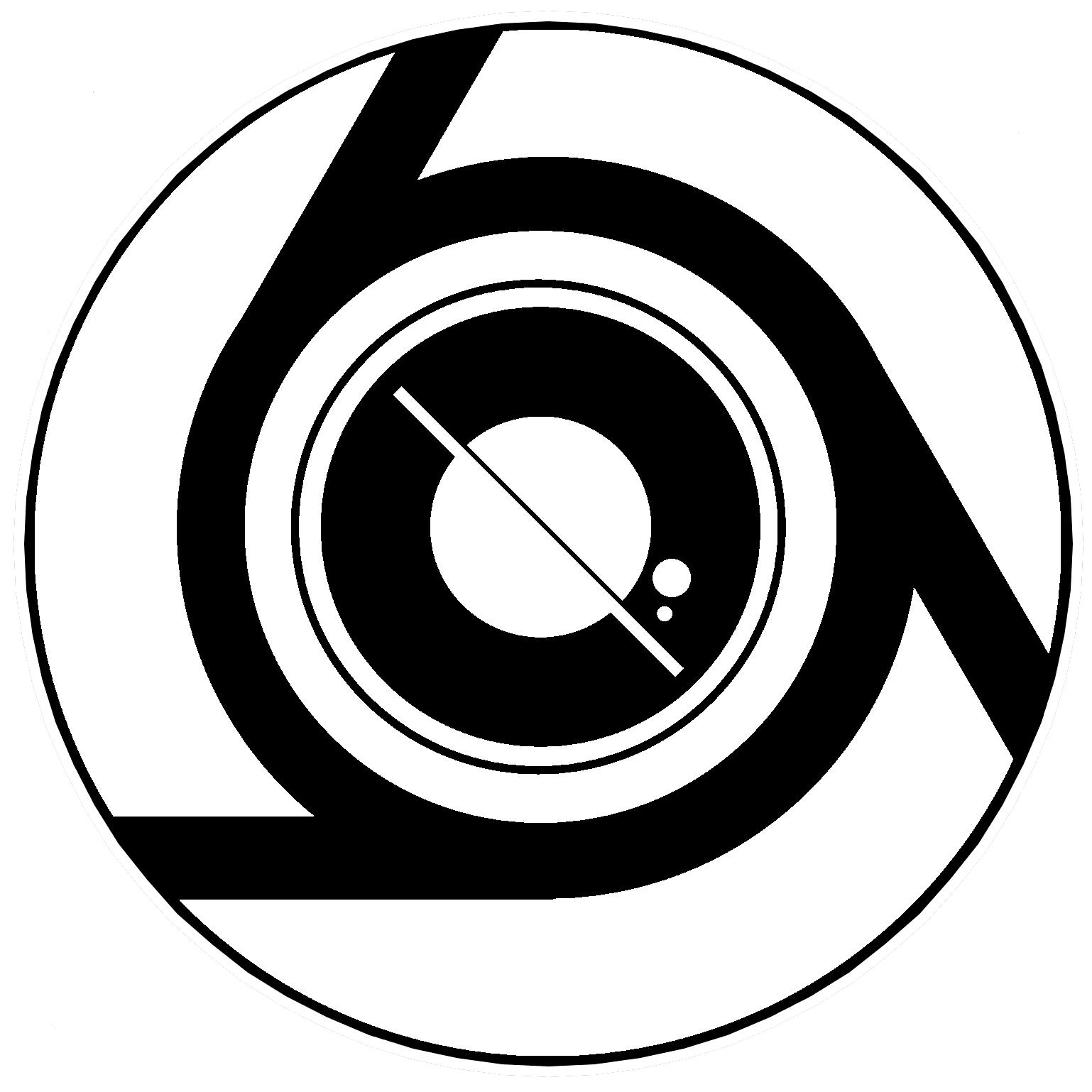 Large exiles small logo black bg