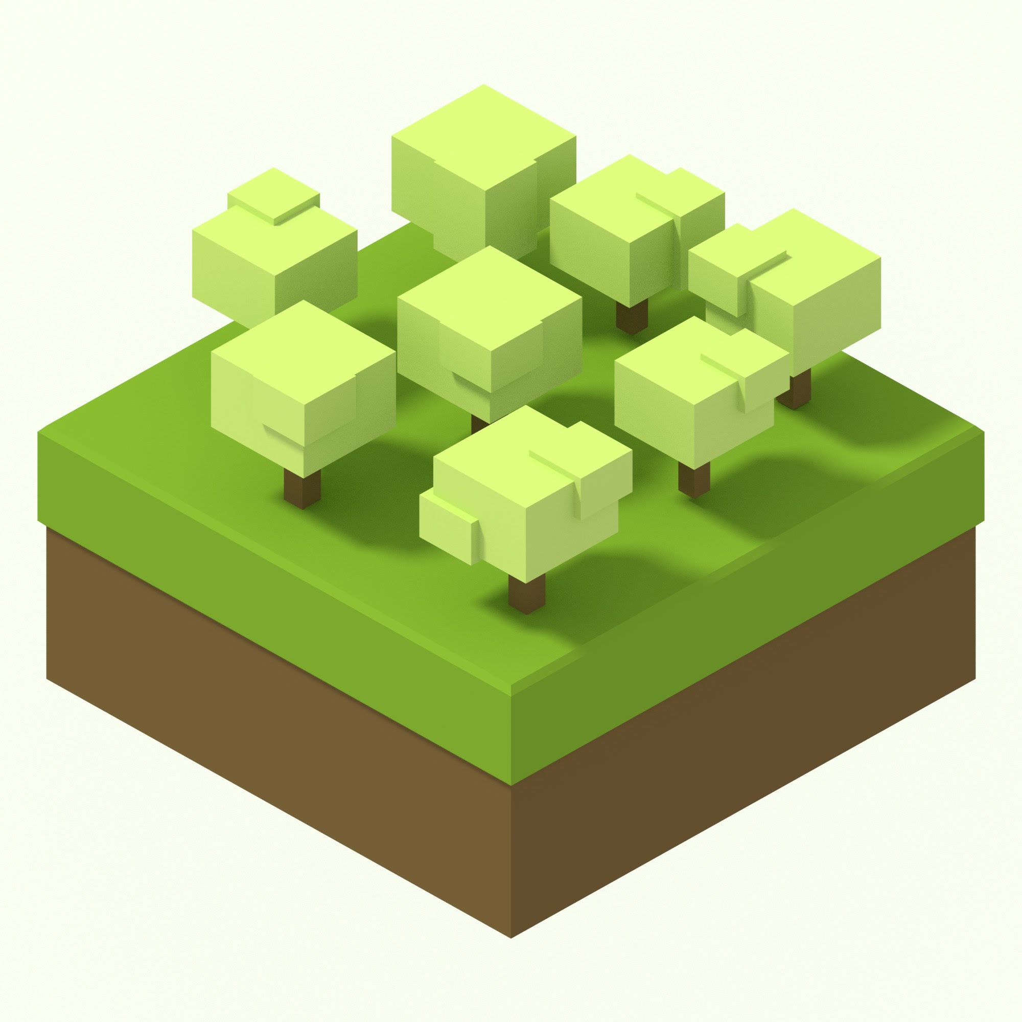 Isometric rendering 1